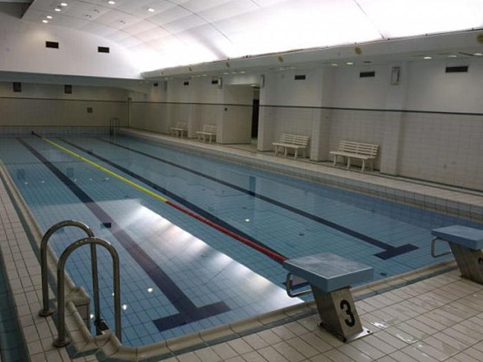 for Indoor swimming pool building regulations