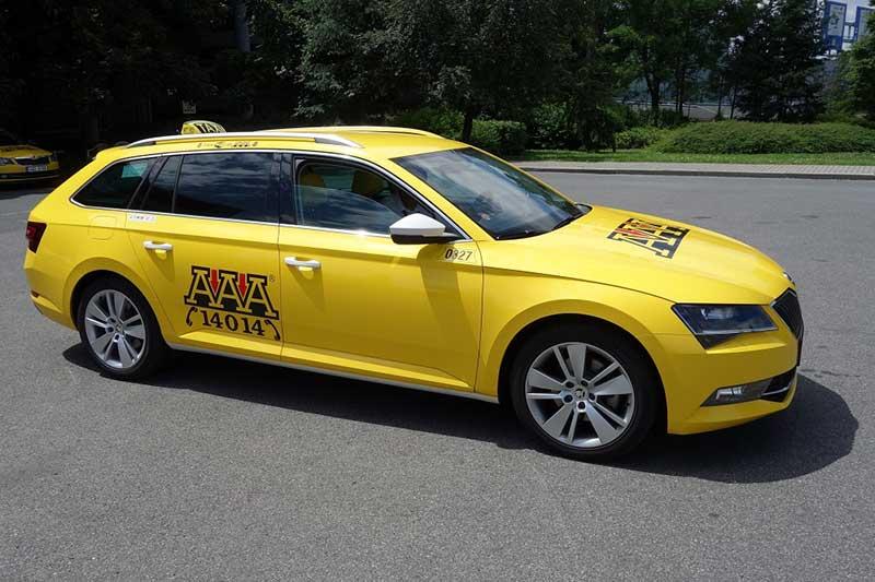 Aaa Taxi Prague 4