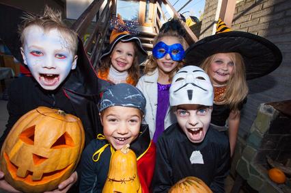 Halloween a Praga per i bambini
