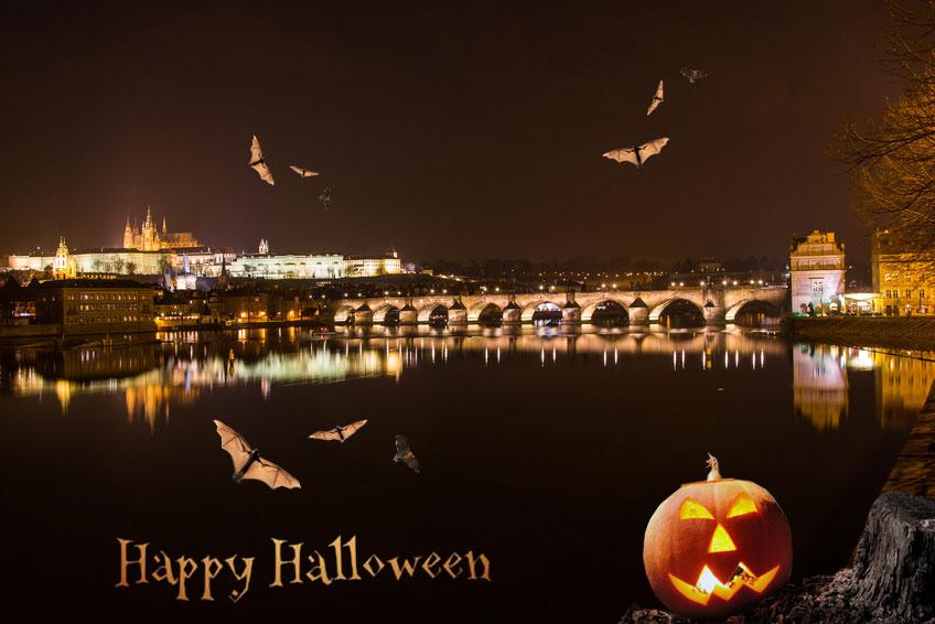 Halloween a Praga