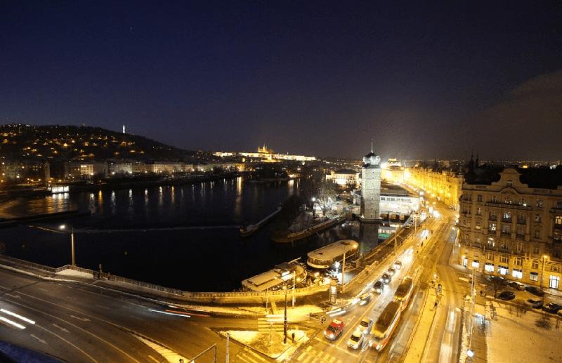 Tancici Dum Praha Panorama
