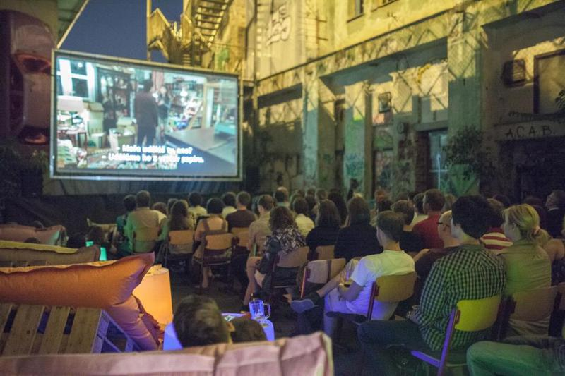 Cinema all'aperto a Praga 2018