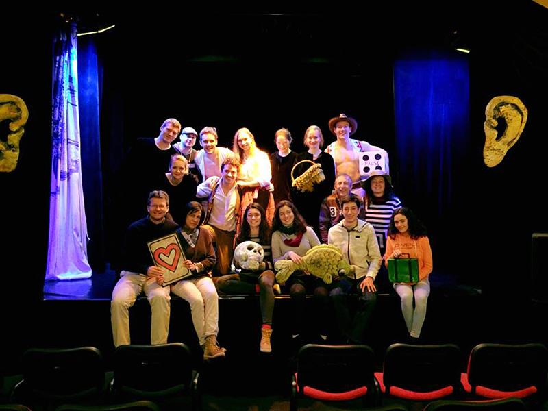 Black Light Theatre Srnec Prague Team
