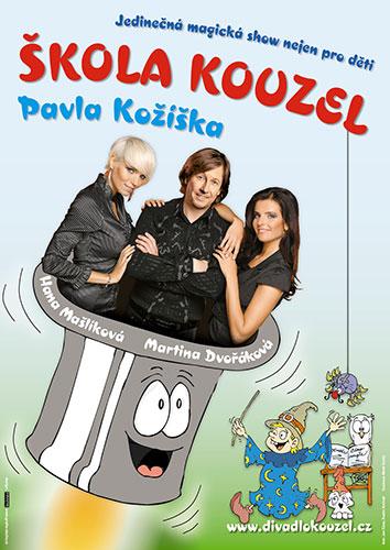 Skola Kouzel 2017 Divadlo Praha
