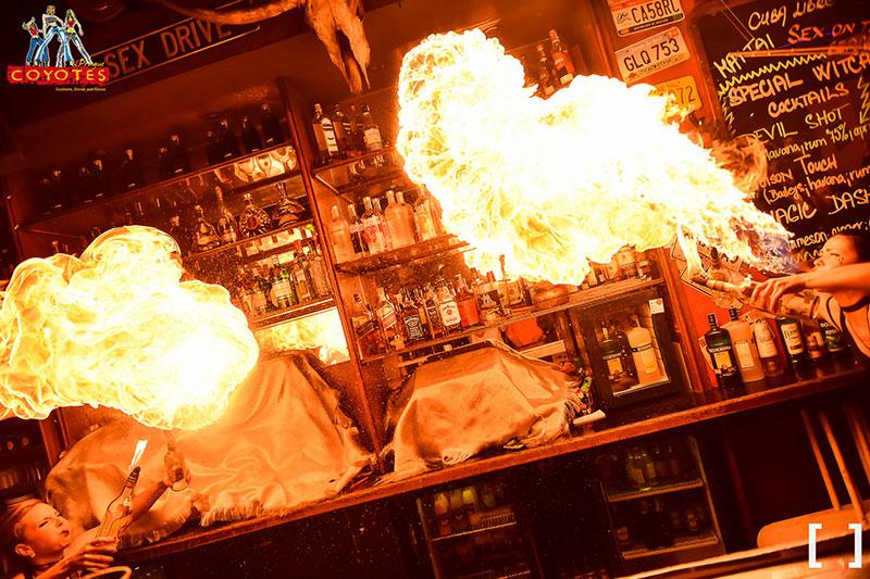 Fire Bar Coyotes Prague