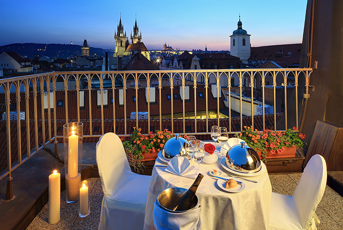 Franz josef restaurant for Grand hotel bohemia prague restaurant