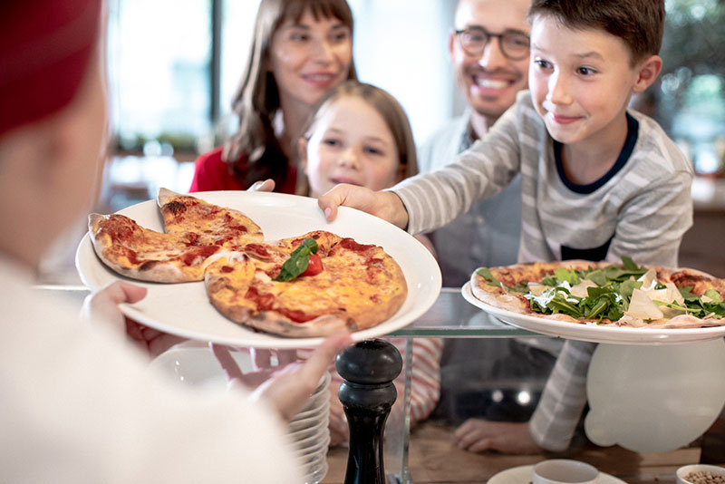 Vapiano Prague Family Pizza