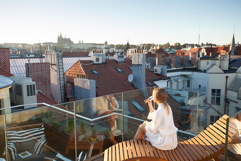 Rooftop Alex Timpow M Spa Prague