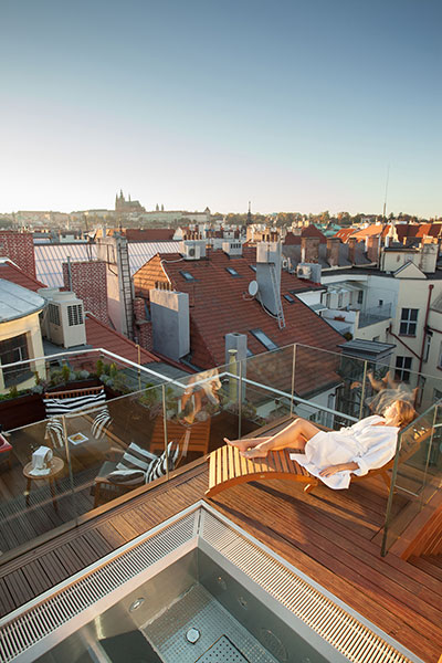 Rooftop M Spa Prague