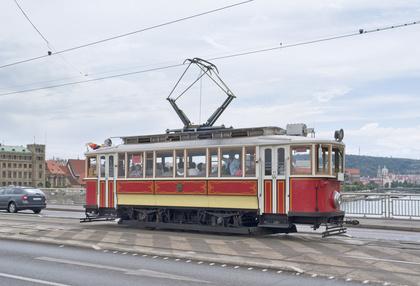 Line41 Tram Prague