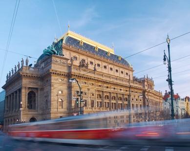 Tram41 Street Prague
