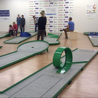 Butovice Indoor Minigolf